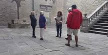 My guided tours of Cortona, Arezzo & province in Tuscany, Italy / Some pics of my guided walking tours in Cortona, Arezzo, La Verna, Poppi, Camaldoli, Sansepolcro, Anghiari and all over Tuscany, Italy. Bilingual tour guide available for group and bespoke guided walking tours of the many attractions present in the Arezzo province. Guida turistica abilitata nativa del posto disponibile per visite guidate in tutti i centri della provincia di Arezzo.