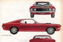 Autos 1960 -1969  / by Sergio Ottoni