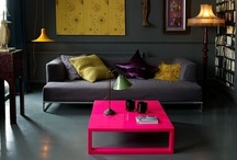 Inspiring Interiors / Interior styles with colour inspiration.  / by loophouse