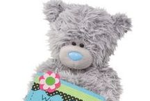 Tatty Teddy / Tatty Teddy Bears (Me to You Bears) are the adorable grey, blue nosed teddys.  They are made from very soft and cosy plush and have embroidered tatty patches and stitching. Tatty Teddy is loved worldwide by people of all ages.