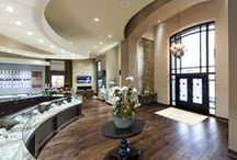 """2015 Award Winning Jewelry Interior Design -Crocker's Jewelers: Concept to Completion / Crocker's Jewelry selected Leslie McGwire & Associates: Interior Design Company to develop their 8,000 square feet new location! Received 2nd place Award with """"America's Coolest Jewelry Stores"""" in 2015"""