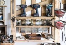 Garage Organization / A collection of awesome garages that inspire.