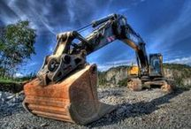 Plant Life / Awesome excavator machinery!