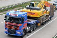 Transport / Our H.E Services transport lorries.