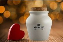 Be Maille Valentine / Seduce the discerning (food) lover with a taste of France... / by Maille US