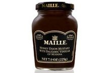 Flavor to Savor—Honey Balsamic Vinegar / The surprising mix of honey Dijon and balsamic vinegar will add depth and excitement to a range of dishes.  / by Maille US