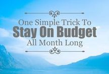 Budgeting Basics / Learning to budget helped us go from debt slaves to debt free. If you want to know how to budget and save money, check out these budgeting tips! Don't forget to visit us at ClubThrifty.com!