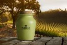 Flavor to Savor–Sauternes / Sauternes bursts with fruity, aromatic flavor and delivers a satisfying sweetness like no other. Our sublime mustard on tap pairs well with seafood such as lobster or scallops as well as chicken to take your dishes to another level.  / by Maille US