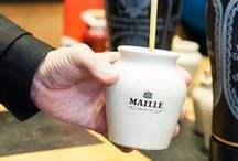 Maille French Lessons / Discover and learn words in French from food to cooking techniques so you can be très bon in your conversations for your next party, restaurant outing, or visiting France!  / by Maille US