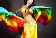 """Belly Dancing / """"Belly dance is like glitter. It not only colours your life - it makes you sparkle!"""" ~ Anonymous. I took belly dance lessons for 3 years - tons of fun and best form of exercise ever!"""