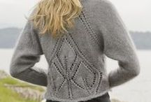 Knitted cardigans etc