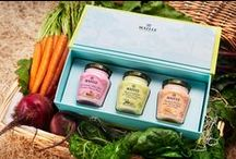 Garden {Recipes} / C'est Les Jardins Secrets des Chefs–The Chefs' Secret Gardens!  The fresh flavors of the gardens are in these three exclusive flavors featuring vegetables and herbs–great with a variety of dishes.