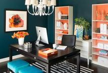 Home Office Ideas / Ideas on creating home workspaces that are both functional and inspiring.