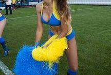 Las Boquitas The Hottest Cheerleader Squad In South America / Hottest South American Cheerleaders