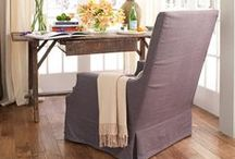 DIY Slipcovers and other home fabric projects / by Melissa J