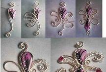 Wire Wrapped bijoux de fil ; tutoriel
