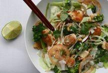 JET's kitchen    asian food / Diverse oosterse gerechten, heerlijk!