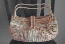 crochet bags, purses, cases, and totes / szydełkowe torebki, torby, etui