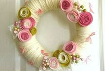 wianki / wreaths / lovely wreaths diy decos for different occasions