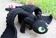 crochet toys / zabawki szydełkowe