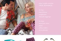 True Romance costumes / What Clarence  and Alabama wear