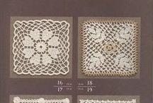 crochet squares / triangles / hexagons etc. / elementy