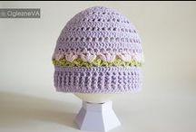 crochet hats / beanies / headbands etc. / szydełkowe nakrycia głowy