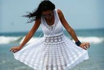crochet dresses and skirts / szydełkowe sukienki i spódnice