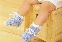 crochet booties, slippers and socks / butki, kapcie i skarpetki szydełkowe