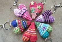 crochet keychains - breloczki / breloczki szydełkowe
