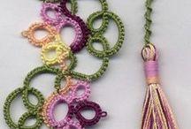 crochet bookmarks - zakładki / zakładki do książek