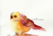 ART & PHOTOGRAPHY / Art and photography that attracts my eye. I love watercolour and pencil as mediums personally.