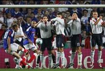 THE FREE KICK. / Every kick is different.