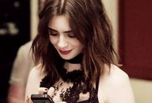 Lily Collins Style / Style inspiration on Lily Collins