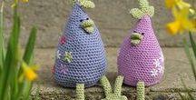 crochet Easter and spring - szydełkowa Wielkanoc o wiosna