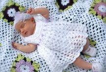 crochet baby and kids' clothes / szydełkowe ubranka dla niemowląt i dzieci
