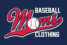 Baseball Moms Clothing / LIMITED EDITION clothing for all the proud Baseball Moms
