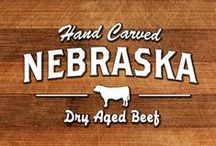 Dry Aged Beef / All the different cuts of dry aged beef that Flatwater Beef offers.