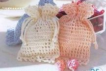crochet sachets and hangers / szydełkowe saszetki i wieszaki