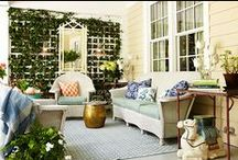 On the Porch // Entertaining