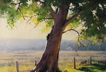 Graham Gercken paintings / landscape painting by an Australian artist