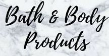 Bath and Body Products / #bodyproducts #bathandbody #personalcare #personalproductreviews #bestbodyproducts #bathproducts