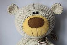 crochet  teddy bears amigurumi / szydełkowe misie amigurumi