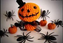 crochet Halloween, autumn