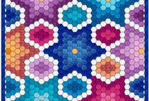 hexagons and so / by daniela gagnone