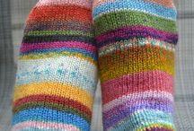 Knitting for the feet