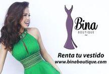 Renta de Vestidos / Renta de vestidos y accesorios en Bina Boutique!
