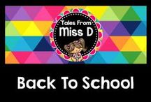 Back to School / Back to School Resources & Ideas