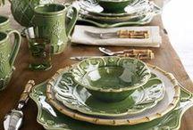 TABLES VERTES / by Elisabeth Mansion