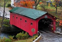 A A. COVERED BRIDGES / Covered bridges.  / by JohnPaul Doerr